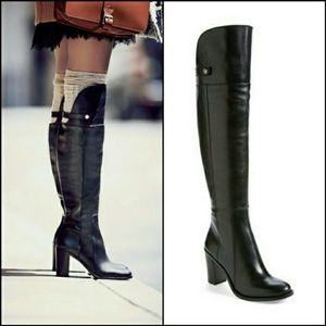 """Louise et Cie """"Navaria"""" Over the knee Leather Boot"""